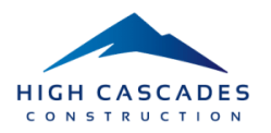 High Cascades Construction