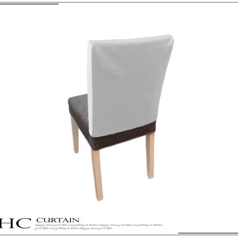 白底椅背罩成品上框