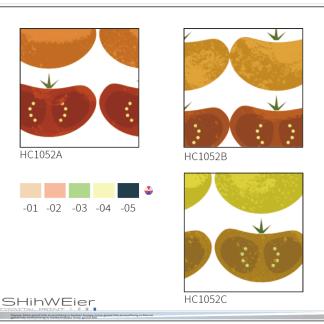 DIGI-PRINT CUSHION-HC1052 tomato