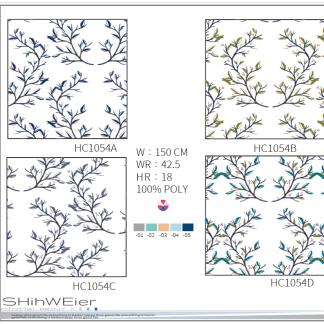 DIGI-PRINT CUSHION-HC1054 Demark tree