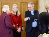 Alison and Mike Booker (Team Rector) with Huguette