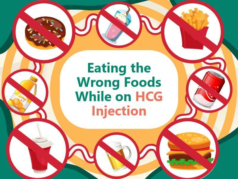 EatingtheWrongFoodsWhileonHCGInjection