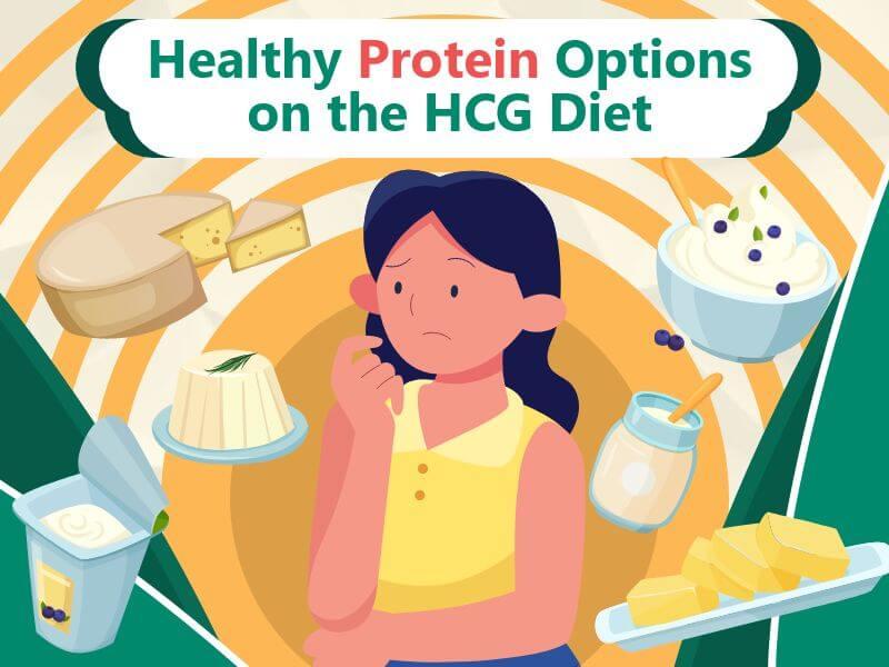 HealthyProteinOptionsontheHCGDiet