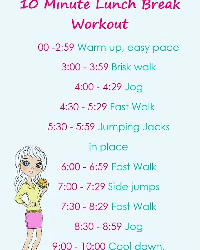 10 minute workout as a gift from Simpelle -love this!