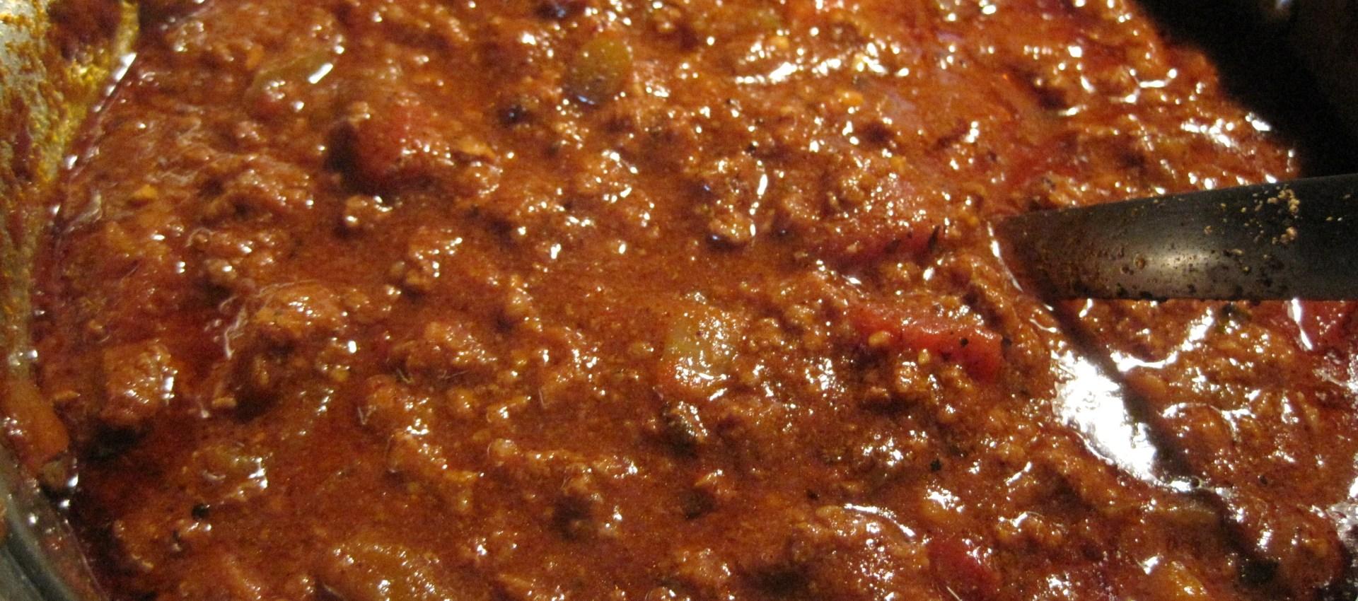 Hcg Diet Recipe for Chili