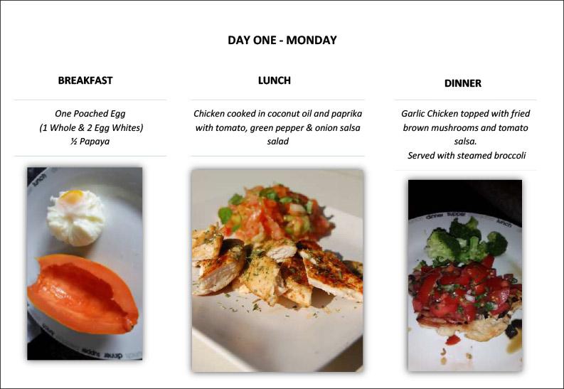 hcg-food-diary-pg2