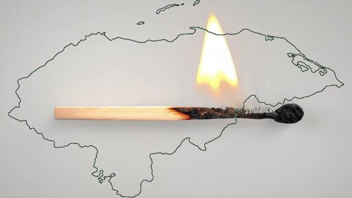 ¡ Negativo ! Más de 100 incendios forestales se registran en Honduras en lo que va de 2018