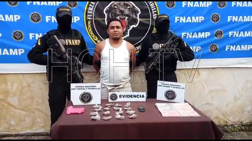 """Capturan a """"La Máscara"""" en posesión de supuesta Marihuana en Lejamaní, Comayagua - hch.tv"""