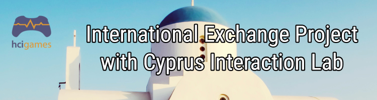 International exchange project with Cyprus Interaction Lab