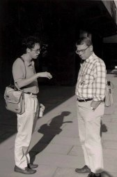 Olson at the INTERACT Conference in Cambridge, England in 1990.
