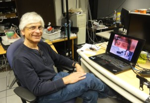 Feiner at his lab at Columbia University in New York City on March 28, 2013.
