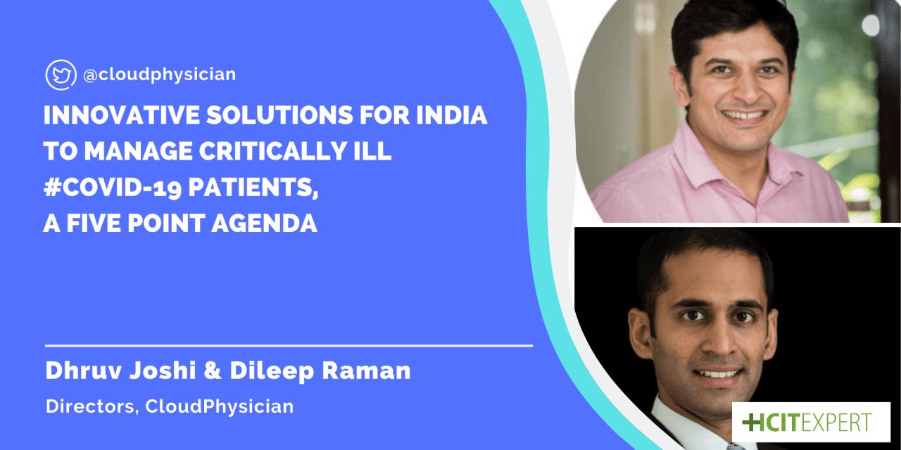 Dhruv Joshi, Dileep Raman, Cloudphysician