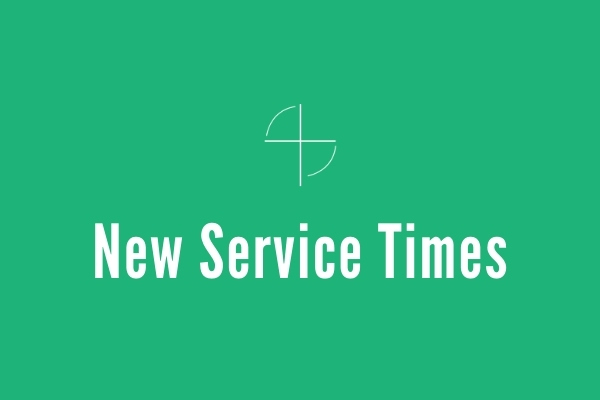 New Service Times Start Nov. 29
