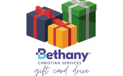 Bethany Christian Services Gift Card Drive