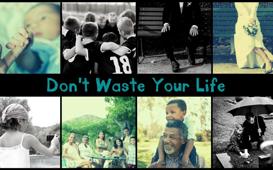 Holy Cross Begins New Series – Don't Waste Your Life