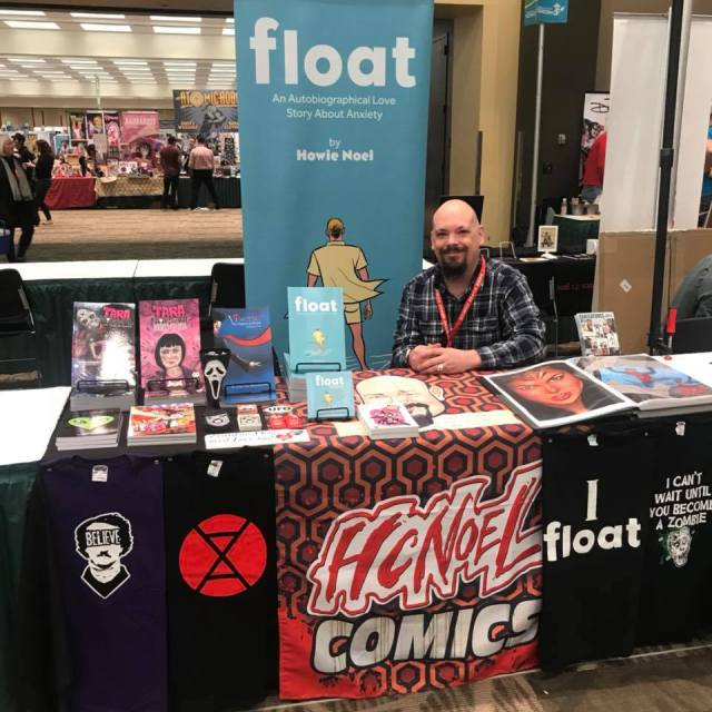 Howie Noel at Emerald City Comic Con