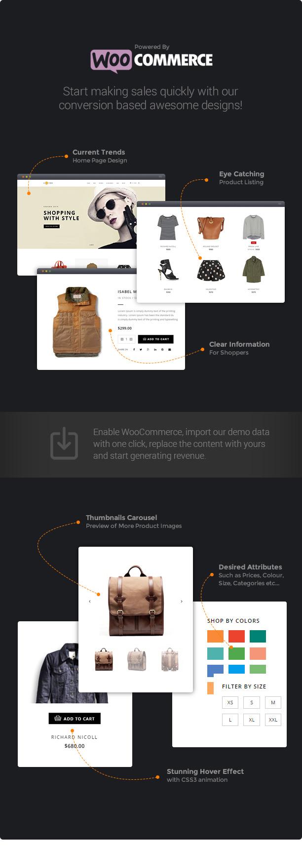 H-Code Responsive & Multipurpose WordPress Theme - 12