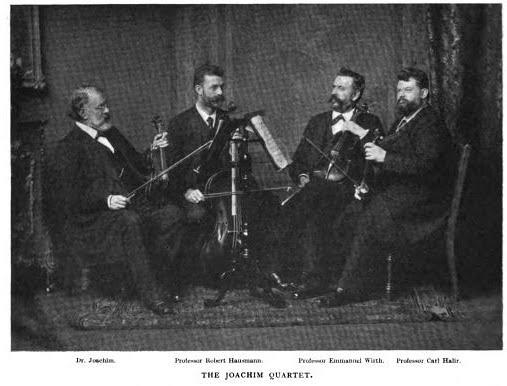 Final incarnation of the quartet with Halir