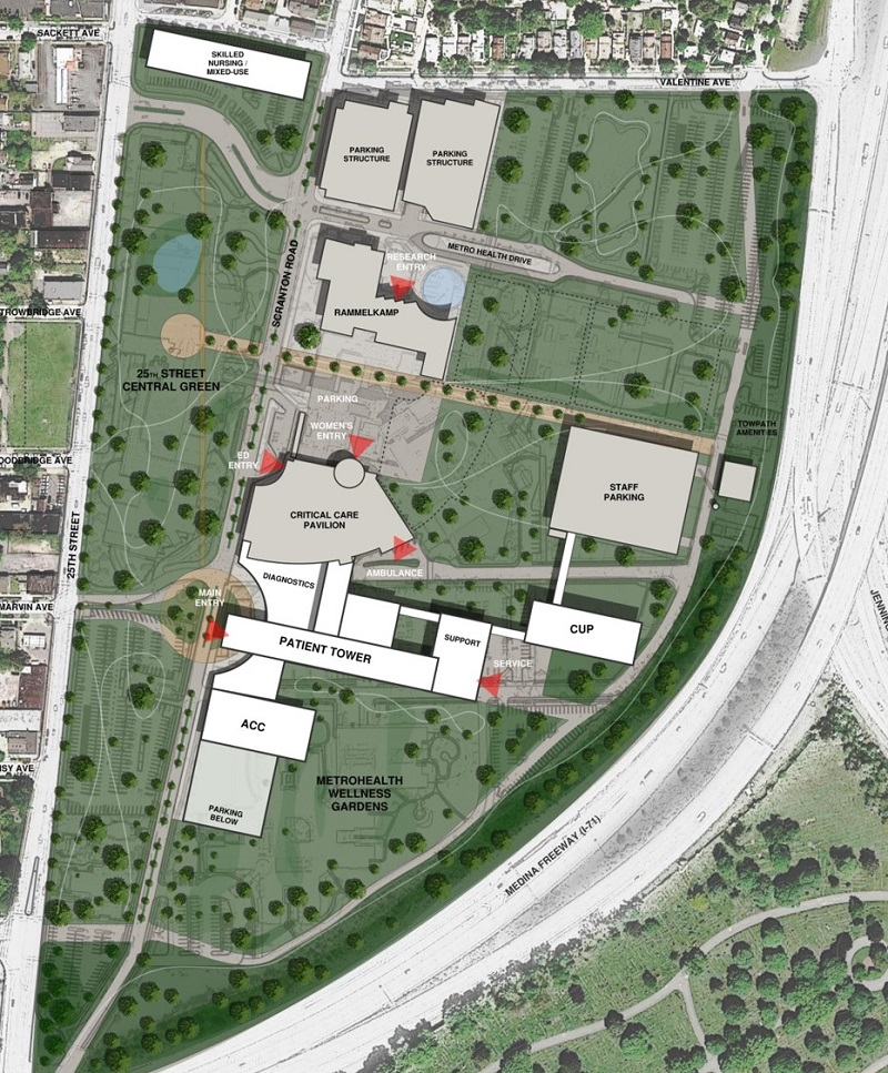 MetroHealth Unveils Plan to Revitalize Community with Hospital in a