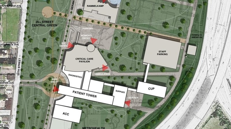 MetroHealth Unveils Plan to Revitalize Community with Hospital in a Park