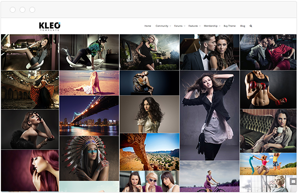 Kleo gallery page