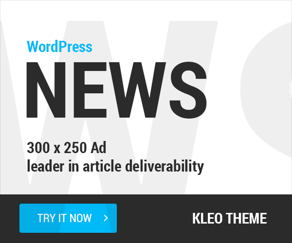 WordPRess News banner