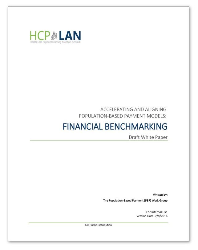 Financial Bechmarking Draft thumbnail
