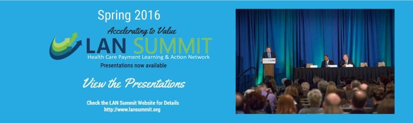 LAN Summit Presentations Banner