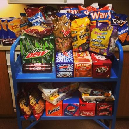 madden snacks