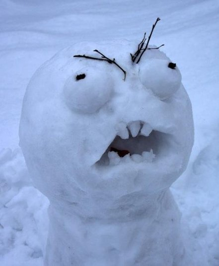 Angry_snowman meme face