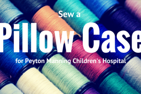 Make Pillow Cases for Peyton Manning Children's...