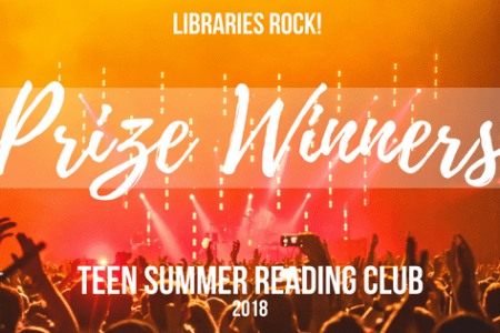 Teen Summer Reading Club Winners