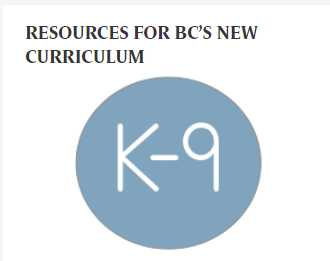 Resources for BC's New Curriculum