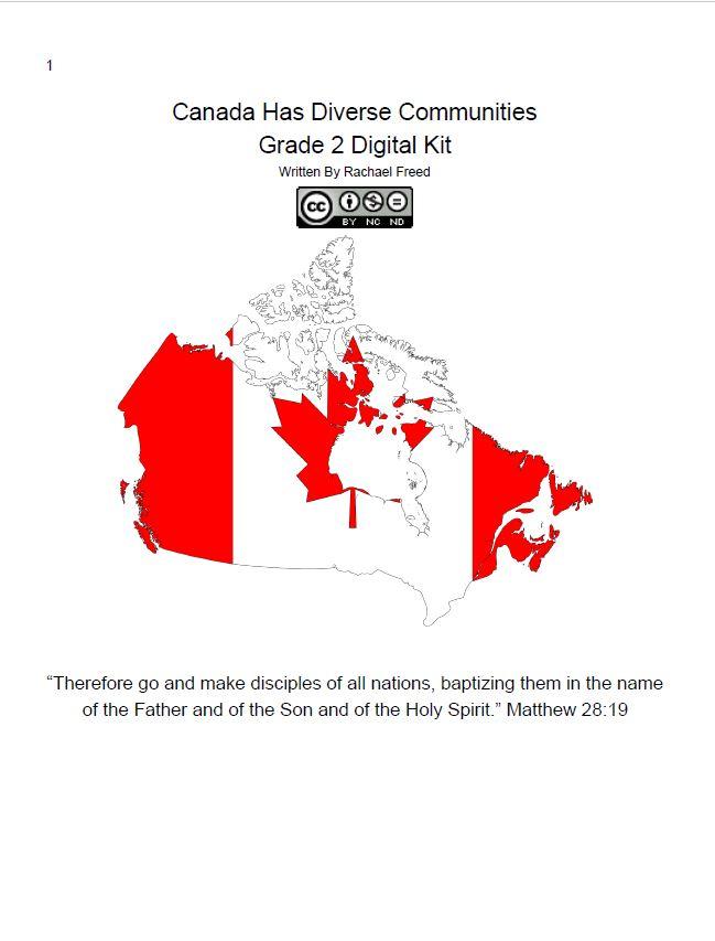 Map Of Canada Grade 2.Grade Five Social Studies Unit Study Kits Hcs Learning Commons