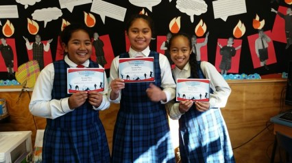 Play ball 2nd Place - Siotara, Victoria and Chelsea