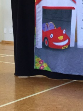 Ronald has a red car