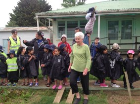 Mrs Newsome leads the way