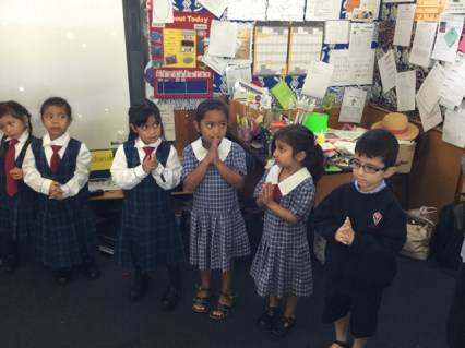 Saying our prayers respectfully
