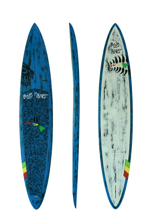 12'6''x28'' Bump Surfer carbon blue