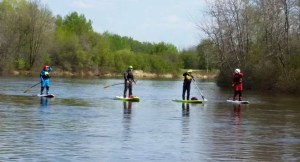 River SUP 1 Whitemouth River Manitoba