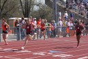 Courtney Mills (Left) and Porche Parnell (Right) - 200 meter dash