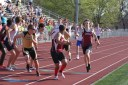 Matt Giudice (Left) and Dylan Miller (Right) - 4x400 meter relay