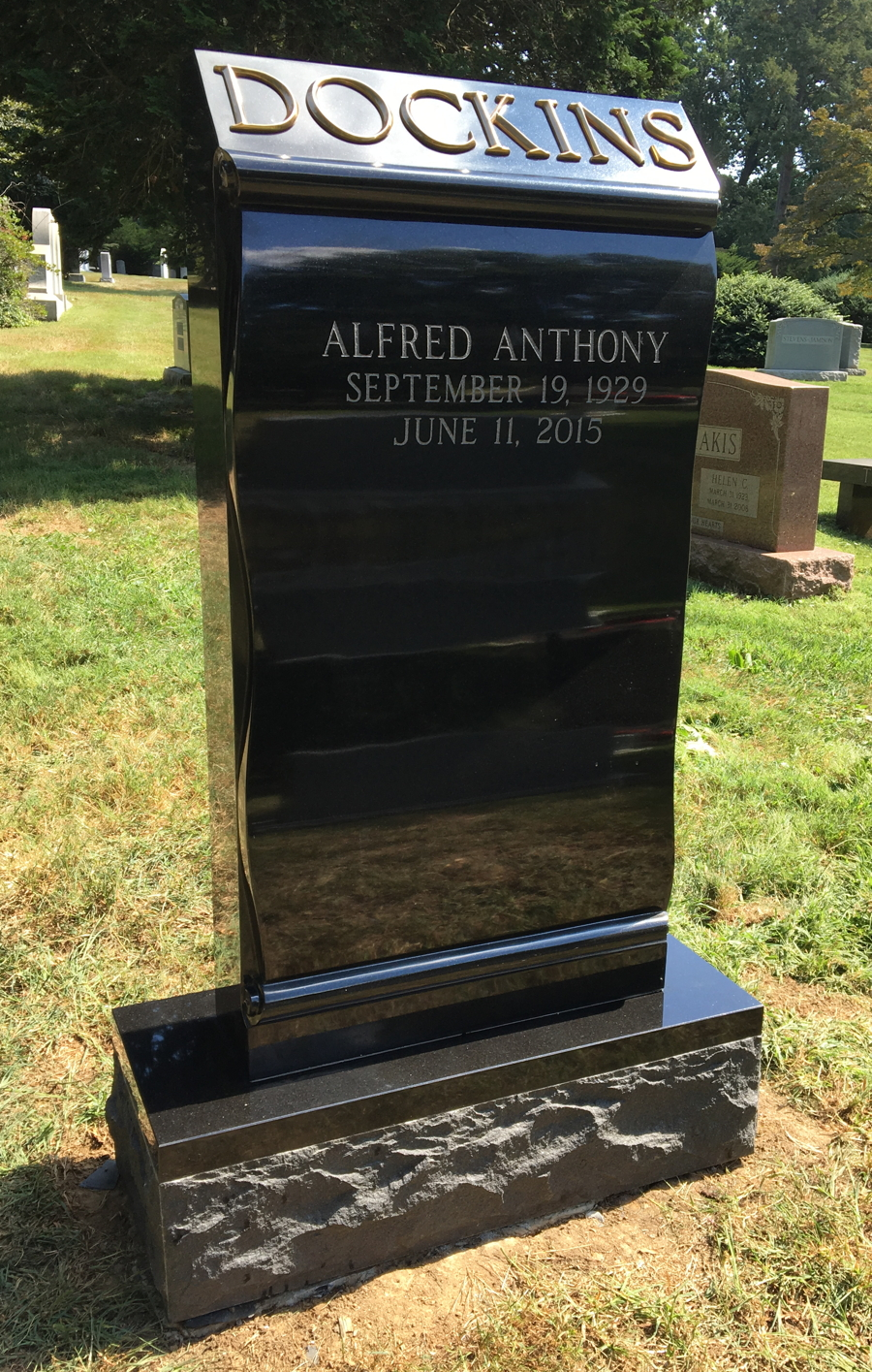 Headstones Hc Wood Cemetery Memorials Serving Delaware