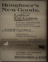 Boughner & Sons Ad