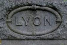 Lyon Family Marker