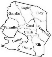 Harrison County District Map