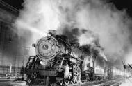 Stock image of steam engine