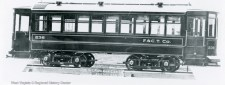 Car No. 236 of Fairmont & Clarksburg Traction Company