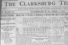 Clarksburg Election Results 1901