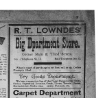 R. T. Lowndes Ad